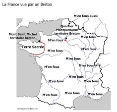 La France vue par un Breton