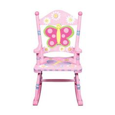 Butterfly Collection - Rocking Chair