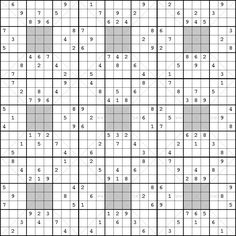 Clueless Sudoku