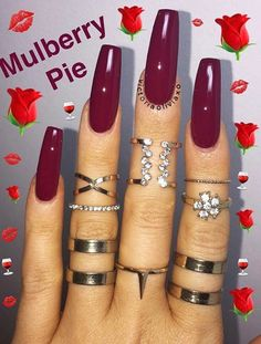 How to choose your fake nails? - My Nails Gorgeous Nails, Love Nails, How To Do Nails, Fun Nails, Pretty Nails, Cute Acrylic Nails, Nails On Fleek, Nails Inspiration, Beauty Nails