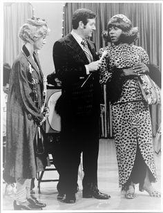 Sandy Duncan, Monty Hall, and Flip Wilson, 1973