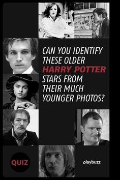bec98d21c7170 Can You Identify These Older Harry Potter Stars From Their Much Younger  Photos