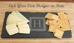 Did you know you can etch slate? Check out this tutorial.