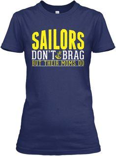 Dont Brag Navy Mom | Teespring