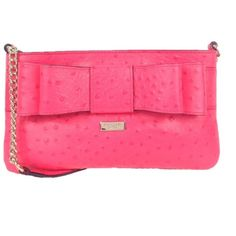 """KATE SPADE Charm City Presley Crossbody Bag NWT """"Desert rose"""" colored crossbody bag in ostrich embossed cowhide with matching trim. Front iconic bow detail. light gold kate spade new york staple. Chain and leather crossbody strap. Zip top closure. custom woven lining with four credit card slip pockets. 5.3""""h x 9.4""""w x 0.4""""d kate spade Bags Crossbody Bags"""
