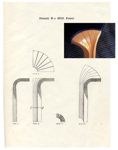 Alvar Aalto's patent for bent-wood furniture leg, Detail of the stool, Artek. Wood Furniture Legs, Small Furniture, Modern Furniture, Furniture Design, Minimalist Furniture, Furniture Plans, Alvar Aalto, Bent Wood, Selling Furniture