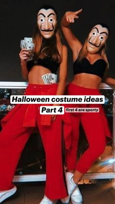 Cute Group Halloween Costumes, Trendy Halloween, Halloween Kostüm, Halloween Outfits, Halloween Movies, Halloween Disfraces, Costume Ideas, Style, Best Friend Costumes