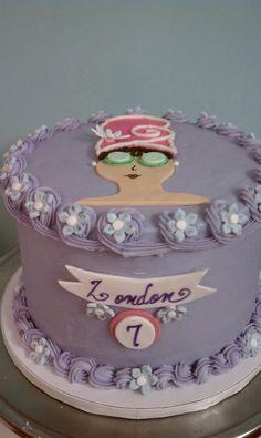 Spa themed birthday cake idea