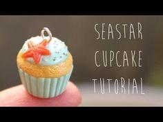 Polymer Clay Tutorial │ Rainbow Swirl Cupcake - YouTube