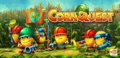 Corn Quest Android Game Review: This game, Corn Quest brings a fresh farm to you with new approach for the defense of your tower !The cornfields are attacked by the large army of mutant bugs and destroying your fields and the player is chosen to protect & save his cornfield with tracking down the resource of the invasion that takes your army to success! Its fun to be a saver of your crop field with cute little characters having armor for defense with beautiful colors