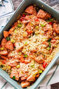 Food For The Gods, Sausage Recipes, Everyday Food, Paella, Recipies, Health Fitness, Food And Drink, Lunch, Healthy Recipes