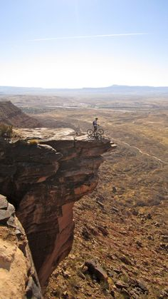 Zen Trail - St. George, Ut  I'm not scared of heights and I'm not afraid to fall, but the landing is gonna be one to remember from this height.