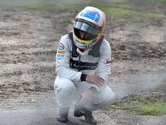 Haas denies car failure caused Fernando Alonso to crash in Melbourne