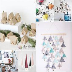 Ideas para hacer un calendario de adviento DIY por @Utrillanais Diseño de Interiores