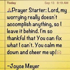 joyce meyer quotes | Joyce Meyer Quotes | Explore My Block | Faith~