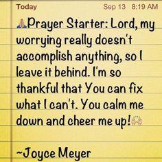 joyce meyer quotes | Joyce Meyer Quotes | Explore My Block | Faith~