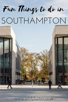Seven Fun Things to do in Southampton - in the south of England. Discovering the emerging cultural side of Southampton...