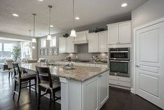 """""""View this Great Traditional Kitchen with Hardwood floors & Breakfast bar in Mentor, OH. The home was built in 2016 and is 2200 square feet. Discover & browse thousands of other home design ideas on Zillow Digs."""""""