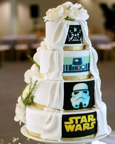 Image result for star wars wedding cake