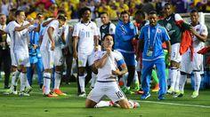 @FCF #Colombia baila al ritmo de James Rodríguez que ya está clasificada para la siguiente ronda #9ine