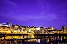#PuertoDeportivoGijon #cimadevilla #cuestadelcholo #Asturias #Gijon #cimavilla #fotosnocturnas #marcospradofotografo