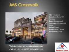We bet that you are looking for a perfect place to live in Gurgaon which does not have any kind of issue. With JMS CrossWalk, this has become possible. Among the affordable commercial projects in Gurgaon this one is the best option that you can go for. Among the new commercial projects in Gurgaon also you will be getting the best support here. Within budget there is no other safer and better real estate property than this one in Gurgaon. So why wait? Grab the deal and find your dream home!