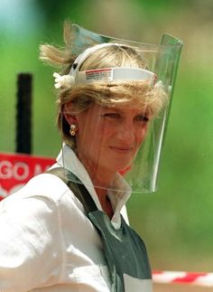 It was during this campaign that some accused Princess Diana of meddling in politics and declared her a 'loose cannon'. Her interest in landmines was focused on the injuries they create, often to children, long after a conflict is over.  She is believed to have influenced the signing, though only after her death, of the Ottawa Treaty, which created an international ban on the use of anti-personnel landmines. The Foreign Secretary,Robin Cook, paid tribute to Diana's work on landmines.
