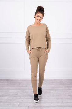 Compleu de dama casual-sport Camel Sport Casual, Jogging, Khaki Pants, Normcore, Costume, Spandex, Sports, Style, Products