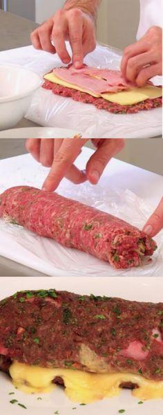 Scarce Amazing Recipes For Dinner Healthy Sides Meatloaf Recipes, Beef Recipes, Cooking Recipes, Oven Cooking, Cooking Time, Healthy Dinner Recipes, Mexican Food Recipes, Good Food, Yummy Food