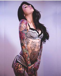 "justanothertattoo-blog: ""• Angela Mazzanti Tattoo blog """