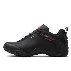 XIANG GUAN Lightweight Hiking Shoes are breathable and quick-drying men's shoes suitable for hiking, trekking, travel or work in various environments and conditions. Best Hiking Shoes, Hiking Boots, Hiking Gear, Top Shoes, Black Shoes, All Black Sneakers, Men's Shoes, Trekking Shoes, Yellow Boots