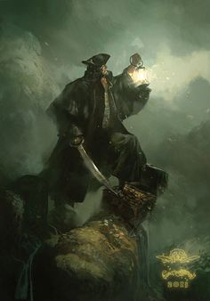 LAUFFRAY is working on the 4th installment of Long John Silver and this image says it all.
