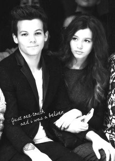 ELOUNOR. Just one touch, and I was a believer. Every kiss, it gets a little sweeter. :D