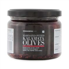 Marinated Pitted Kalamata Olives 290g Gourmet Gifts, Kalamata Olives, Happy Mothers Day, Herbs, Stuffed Peppers, Food, Clothing, Outfits, Stuffed Pepper
