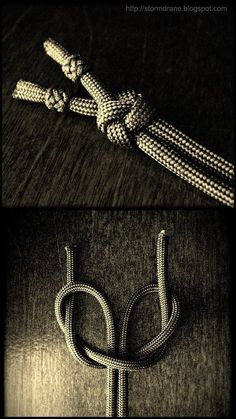 video tutorial - two-strand lanyard knot - ABoK 802