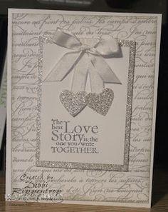 Debbis Design Stamping: Sparkly Wedding
