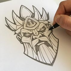 Poseidon sketch for the last installment in the patch collab with release this Thursday! Cool Sketches, Tattoo Sketches, Tattoo Drawings, Drawing Sketches, Ink Illustrations, Illustration Art, Graffiti Lettering, Amazing Drawings, Pencil Art Drawings