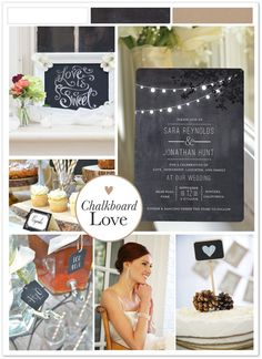 There's something nostalgic and charming about chalkboard details. Set the stage to your whimsical wedding by inviting guests with the dangling lights invitation. Available at walmartstationery.com