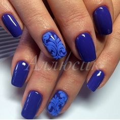 3d nails, Bright shellac, Elegant nails, Evening nails, Everyday nails, Festive…