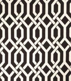 Upholstery Fabric-Eaton Square Flagstone Black
