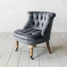 Beautifully upholstered in sumptuous grey velvet, our Trianon chair takes its inspiration from the palaces of Europe. Grey Velvet Chair, Grey Chair, Velvet Chairs, Saarinen Chair, Teal Accent Chair, Accent Chairs, Restoration Hardware Dining Chairs, Cheap Adirondack Chairs