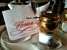 Florian Rituality and service   Caffè #Florian a #Venezia San Marco - Florian #cafè in #Venice Saint Mark #travel #travelinspiration #italy #italia #veneto #instaitalia #italianalluretravel #lonelyplanetitalia #lonelyplanet