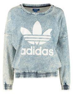 adidas Originals - S adidas Originals - Sweatshirt - blå dd6506991b6bf