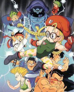 Street Fighter By Akira Toriyama (creator of Dragon Ball)  #akiratoriyama…