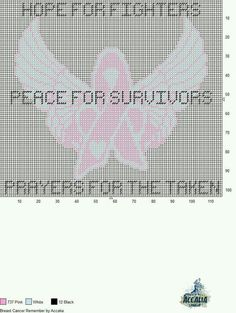 BREAST CANCER REMEMBER by ACCALIA -- WALL HANGING