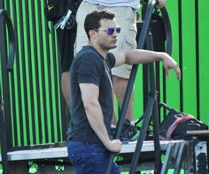 Check out the latest photos from behind the scenes of filming Fifty Shades Darker here!