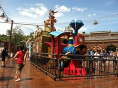 Casey Jr. Splash Station and the updated Dumbo ride are now open at Walt Disney World's Magic Kingdom :) This is all part of the ongoing Fantasyland expansion.