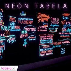 Neon tabelalar hala popülerliğini sürdürüyor. İç ya da dış mekanlar için tercih edebileceğiniz neon tabelalar, göz alacak.  #Neon #Tabela #Renkler #Parlak #Fosforlu #Popüler