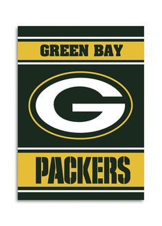 NFL Green Bay Packers 2-Sided 28 X 40 House Banner