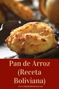 Pan de Arroz (Bolivian Gluten-Free Bread) - Chipa by the Dozen Sicilian Recipes, Pastry Recipes, Cooking Recipes, Bolivian Recipes, Bread Recipes, Sicilian Food, Pan Dulce, Gluten Free Snacks, Gluten Free Recipes
